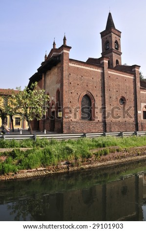 Saint Cristopher Church - stock photo