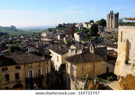 Saint Emilion - stock photo