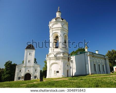 Saint George church in Kolomenskoye, Moscow, Russia - stock photo