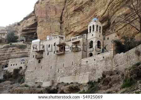 Saint George Monastery, Israel. - stock photo