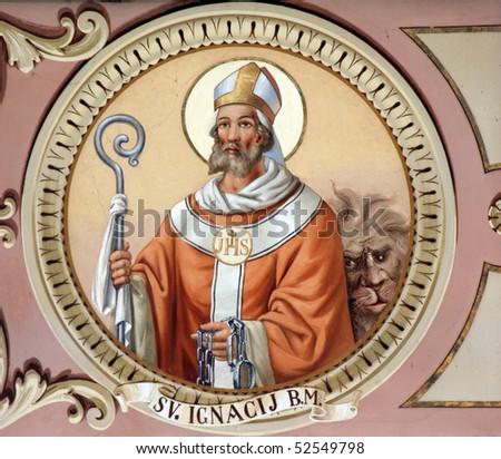 Saint Ignatius - stock photo