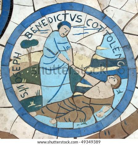 Saint Joseph Benedict Cottolengo - stock photo