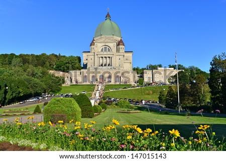 Saint-Joseph Oratory, Montreal, Canada - stock photo
