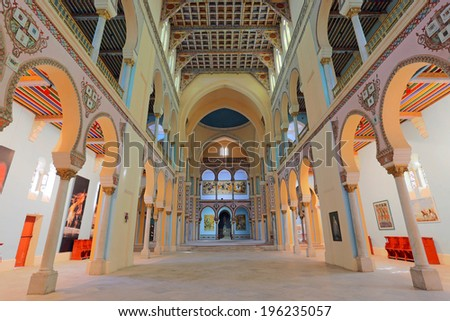 Saint Louis Cathedral (Carthage)  - stock photo