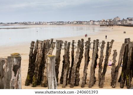 Saint Malo - stock photo