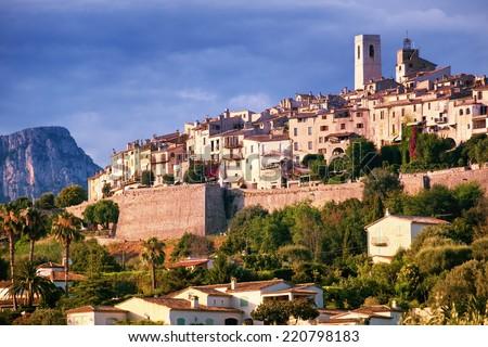 Saint Paul de Vence, Provence, France - stock photo