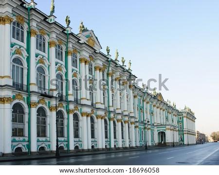 Saint Petersburg, Hermitage - stock photo