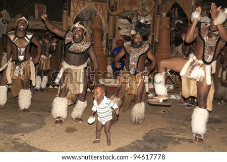 NOVEMBER 27   Unidentified Zulu dancers wear traditional Zulu clothing    Zulu Culture Clothing