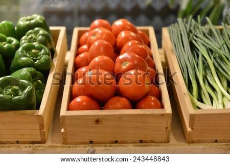salad bar - stock photo
