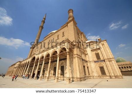 Saladin Citadel - Side - stock photo