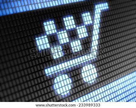 Sale icon - stock photo