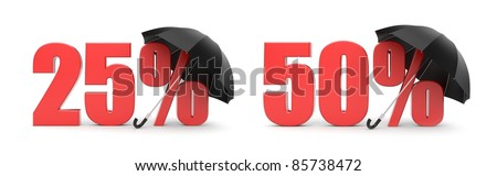 Sale metaphor - stock photo