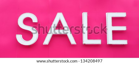Sale signs, big reductions - stock photo
