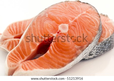 Salmon Fillets - stock photo