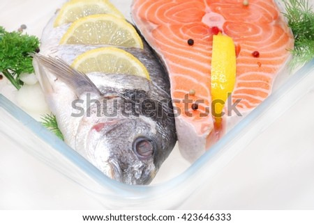 salmon fish stock photos images pictures shutterstock. Black Bedroom Furniture Sets. Home Design Ideas