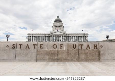 Salt Lake City Parliament - stock photo