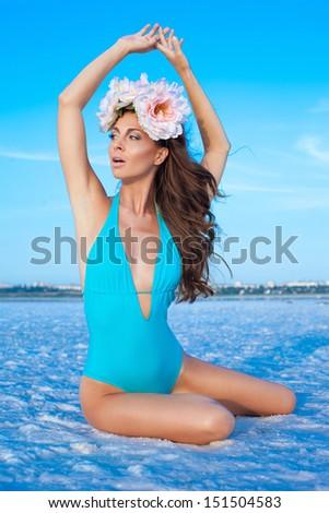 Salt spa - stock photo