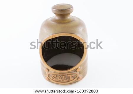 Salt Store - stock photo