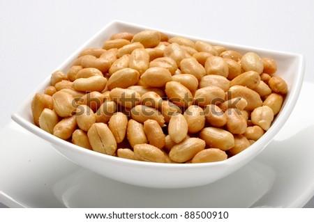 Salty Peanuts 4 - stock photo