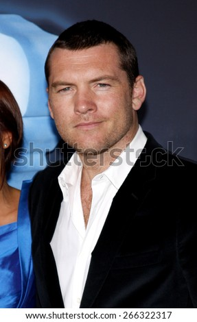 Sam Worthington at the Los Angeles premiere of 'Avatar' held at the Grauman's Chinese Theater in Hollywood on December 16, 2009.  - stock photo