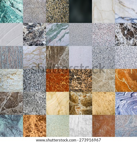 sample of granite texture - marble layers design gray stone slab surface grain rock backdrop layout industry construction - stock photo