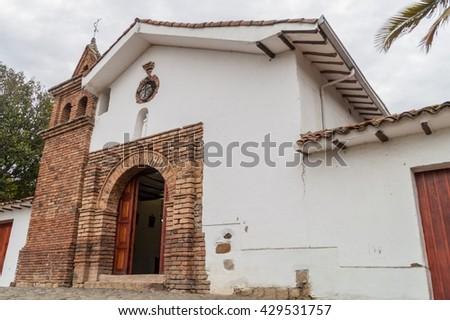San Antonio church in Cali, Colombia - stock photo