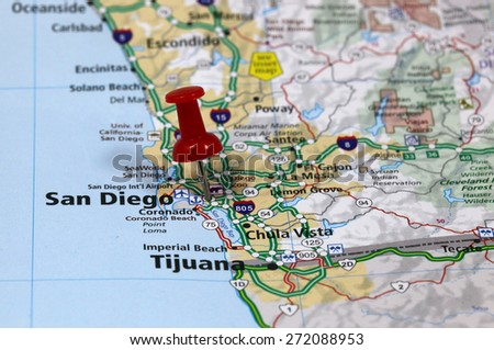 san diego - stock photo