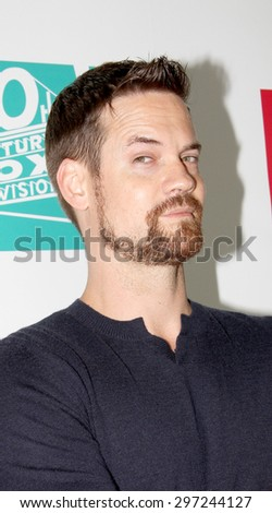 SAN DIEGO, CA - JULY 10: Shane West arrives at the 20th Century Fox/FX Comic Con party at the Andez hotel on July 10, 2015 in San Diego, CA. - stock photo