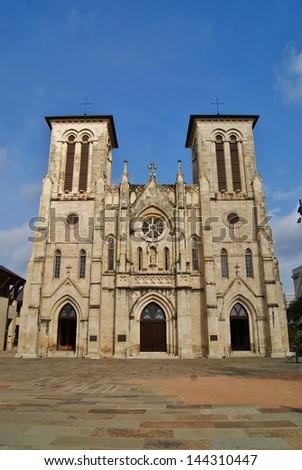 San Fernando Cathedral San Antonio - stock photo