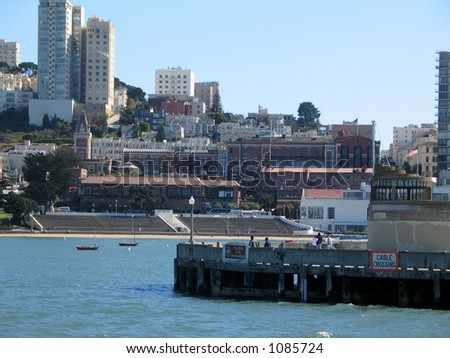 San Francisco Bay - stock photo