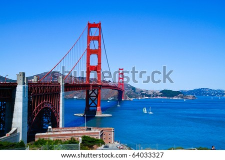 San Francisco Golden Gate - stock photo