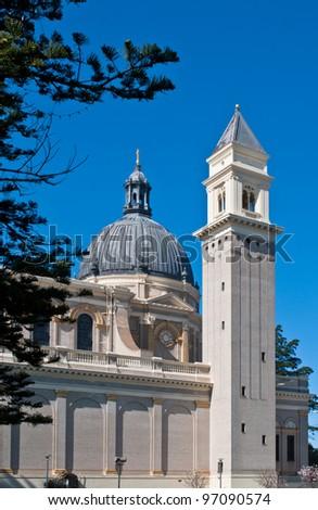 San Francisco university church - stock photo