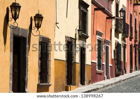 San Miguel De Allende, Guanajuato (Mexico) - stock photo