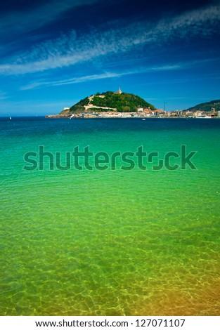 San Sebastian - stock photo