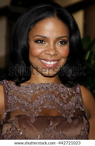 Sanaa Lathan at the Essence Black Women in Hollywood Luncheon held at the Beverly Hills Hotel in Beverly Hills, USA on February 19, 2009. - stock photo