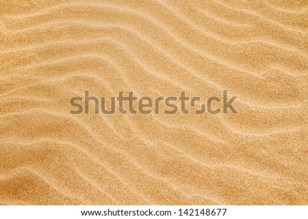 Sand background. - stock photo
