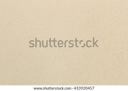 Sand blank surface - stock photo
