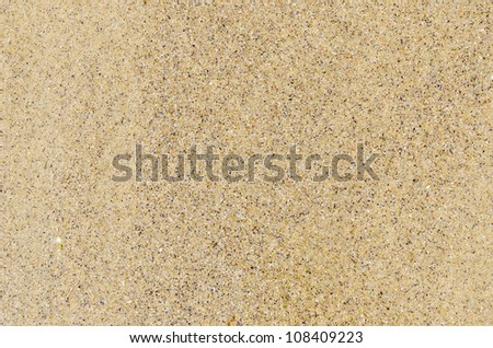 sand close up as textured background - stock photo