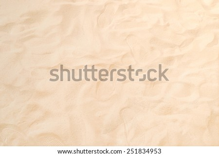 Sand for children to play - stock photo