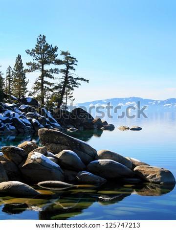 Sand Harbor Lake Tahoe - stock photo