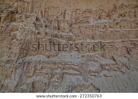 Sand hills as a backdrop. - stock photo