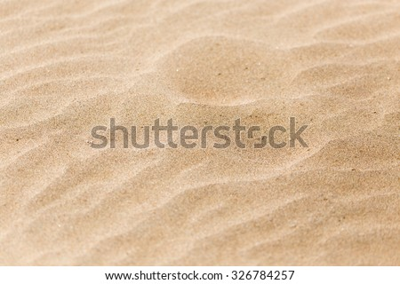 sand in nature as a background - stock photo