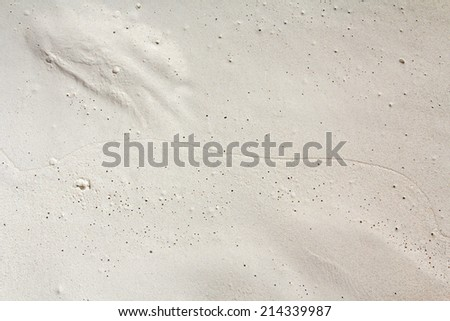 Sand on Beach on Maya . - stock photo