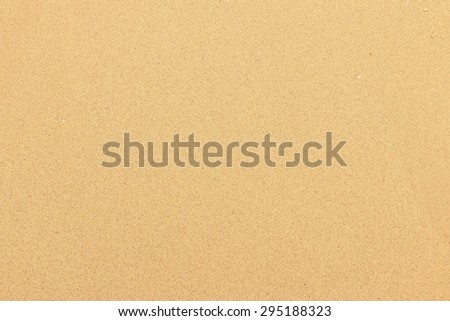 Sand on beach Thailand. - stock photo