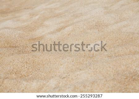 Sand pattern background - stock photo