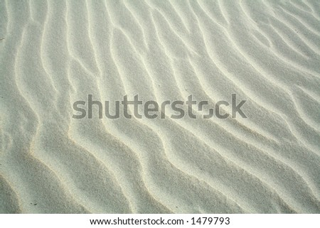 Sand Ripples - stock photo