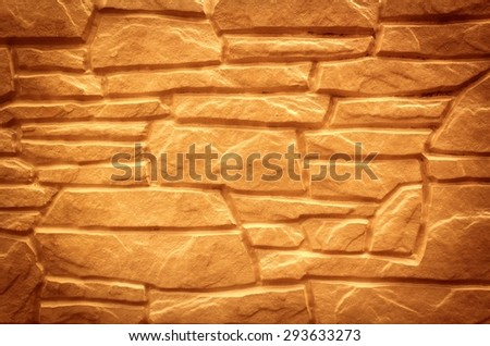sand stone wall texture background - stock photo