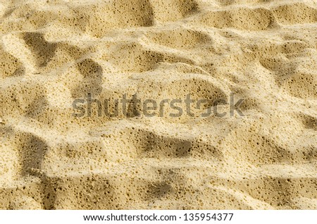 Sand texture as abstract background - stock photo