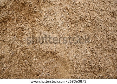 Sand texture closeup. Coarse sand grains background. - stock photo