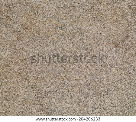 Sand texture. Sandy beach for background. - stock photo